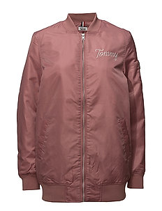THDW NYLON BOMBER 39 - WITHERED ROSE