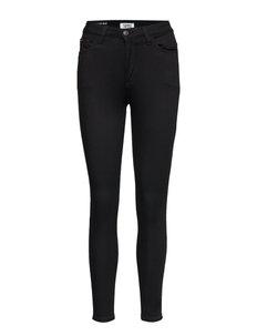 HIGH RISE SKINNY SAN - skinny jeans - dana black stretch