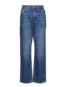 TJW MOM JEANS W16 B, - brede jeans - dark blue denim