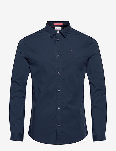 TJM ORIGINAL STRETCH SHIRT - business skjortor - black iris