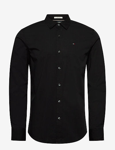 TJM ORIGINAL STRETCH SHIRT - business skjortor - tommy black