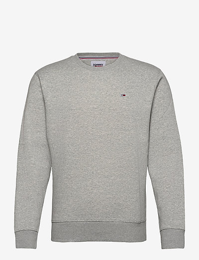TJM REGULAR FLEECE C NECK - kläder - lt grey htr