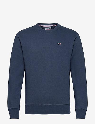 TJM REGULAR FLEECE C NECK - kläder - twilight navy