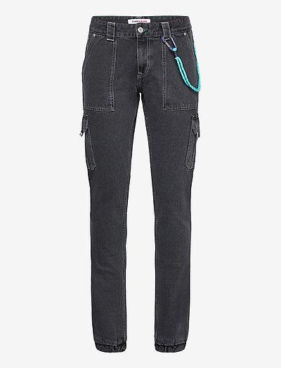 SCANTON CARGO SVBKR - slim jeans - save ps bk rig