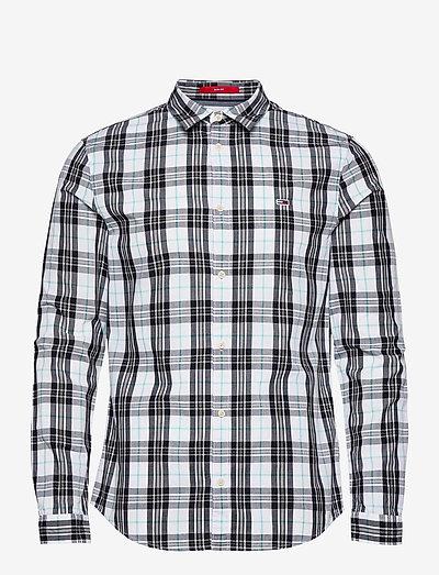 TJM SEASONAL CHECK SHIRT - jeansskjortor - white / multi