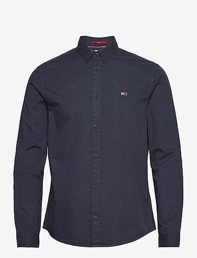 TJM LIGHTWEIGHT TWILL SHIRT - rutiga skjortor - twilight navy