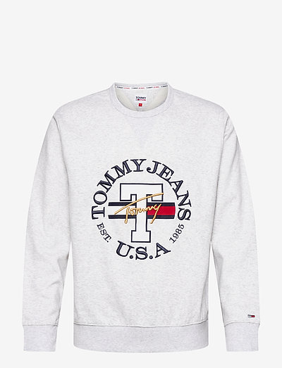 TJM TIMELESS TOMMY CREW 1 C - swetry - silver grey htr
