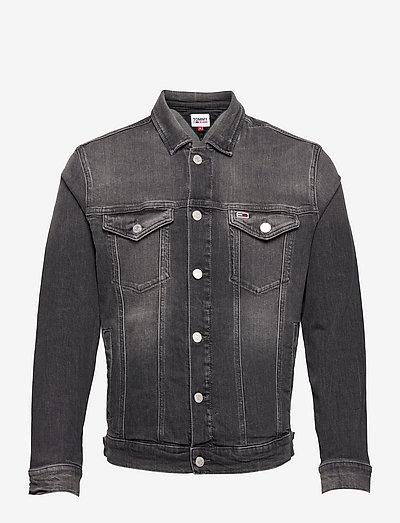 REGULAR TRUCKER JACKET AE188 GRS - jeansjackor - denim medium