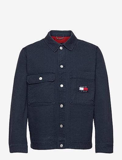 TJM BOXY TRUCKER JACKET - jeansjackor - twilight navy