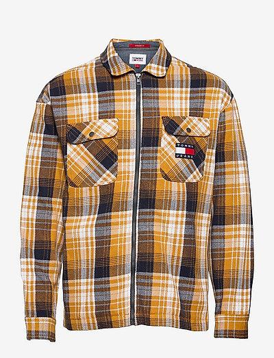 TJM CHECK ZIP OVERSHIRT - kläder - golden age / multi