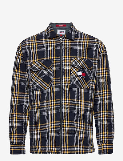TJM CHECK ZIP OVERSHIRT - kläder - twilight navy / multi