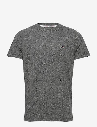TJM SLIM C NECK TEE - basic t-shirts - black