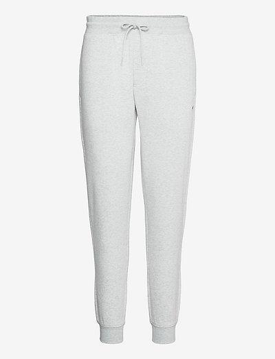 TJM SLIM FLEECE SWEATPANT - vêtements - silver grey htr