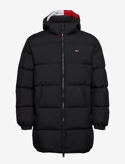 TJM ESSENTIAL DOWN PARKA - padded jackets - black