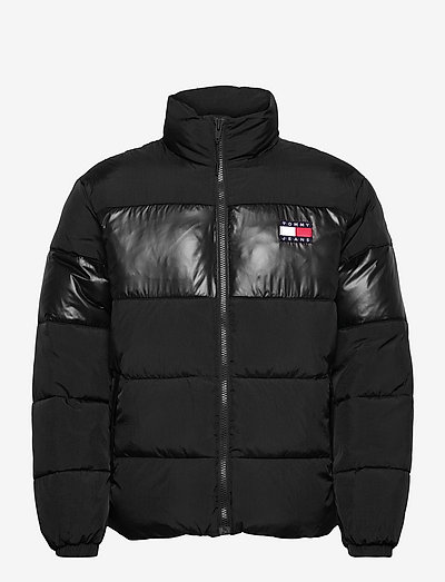 TJM TONAL COLORBLOCK PUFFER - padded jackets - black