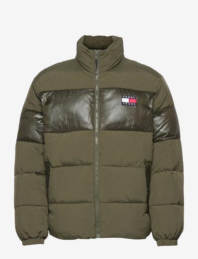 TJM TONAL COLORBLOCK PUFFER - padded jackets - dark olive