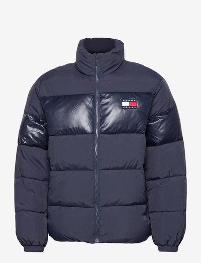 TJM TONAL COLORBLOCK PUFFER - padded jackets - twilight navy