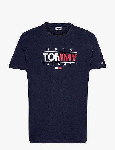TJM ESSENTIAL GRAPHIC TEE - kortärmade t-shirts - twilight navy