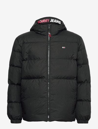TJM ESSENTIAL DOWN JACKET - padded jackets - black