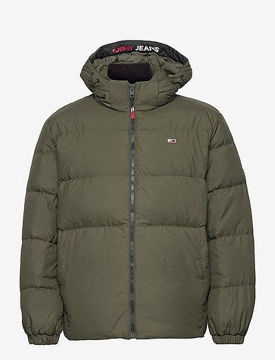 TJM ESSENTIAL DOWN JACKET - padded jackets - dark olive