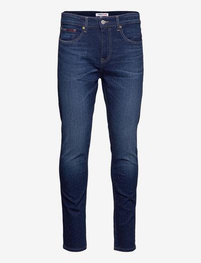 AUSTIN SLIM TPRD BE159 DBSTR - slim jeans - denim dark