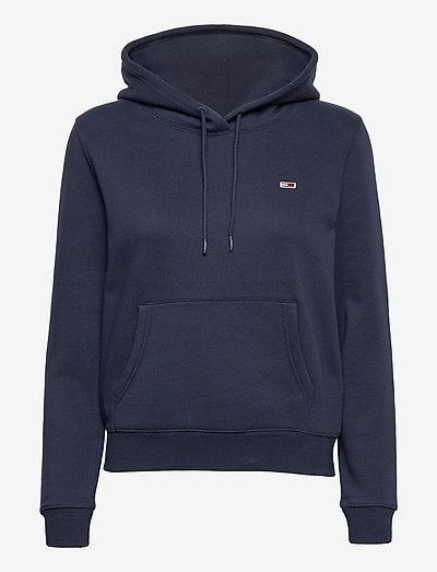 TJW REGULAR FLEECE HOODIE - sweatshirts en hoodies - twilight navy
