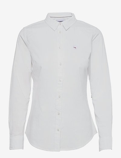 TJW SLIM FIT OXFORD SHIRT - denimskjorter - white