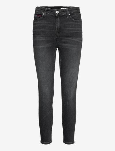NORA MR SKNY ANKLE AE170 BKS - skinny jeans - denim black