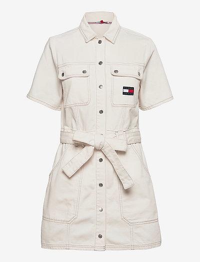 UTILITY TWILL DRESS AE795 SWR - sommarklänningar - denim color