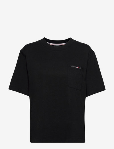 TJW BXY UTILITY POCKET TEE - t-shirts - black