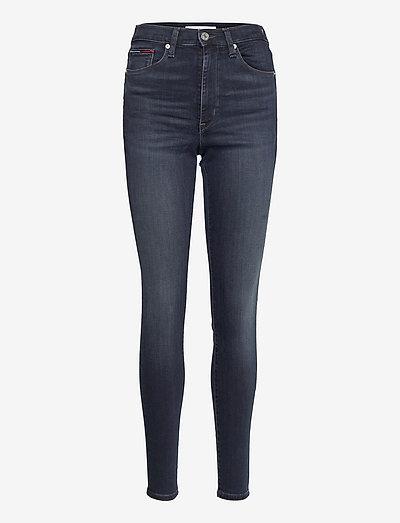 SYLVIA HR SKNY BE163 BBKST - skinny jeans - denim dark