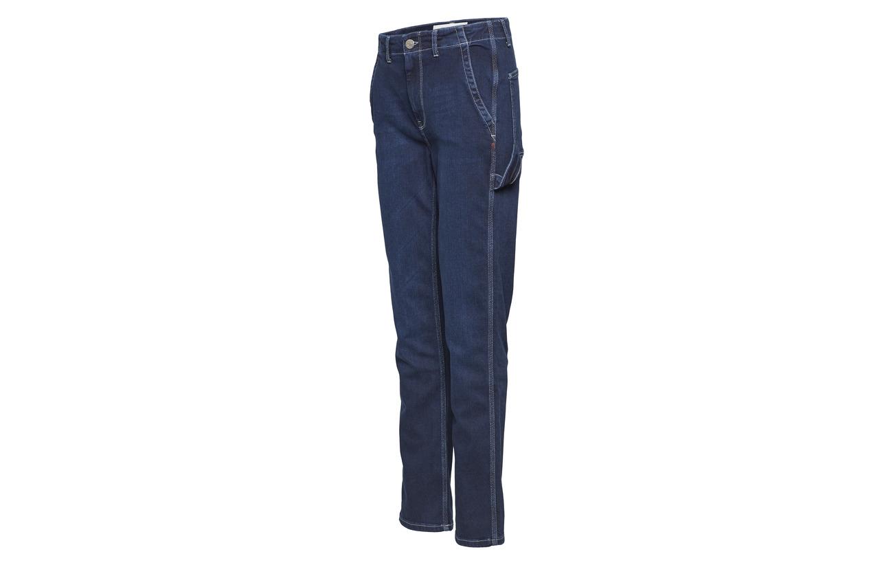 6 Tomorrow 79 Lincoln 12 51 92 Elastane Coton Hounston Polyester Recyclé Pant Bio 1 Denim Wash Blue 09 Worker 47SxrT4