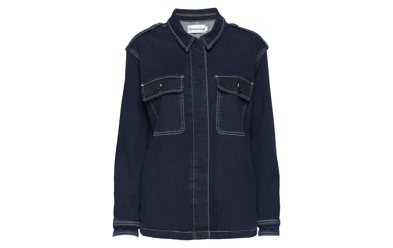 Elastane Hounston Tomorrow Jacket Bio Recyclé 79 12 51 Wash Lincoln Blue Denim Coton 09 92 Worker 6 1 Polyester qHxURwH