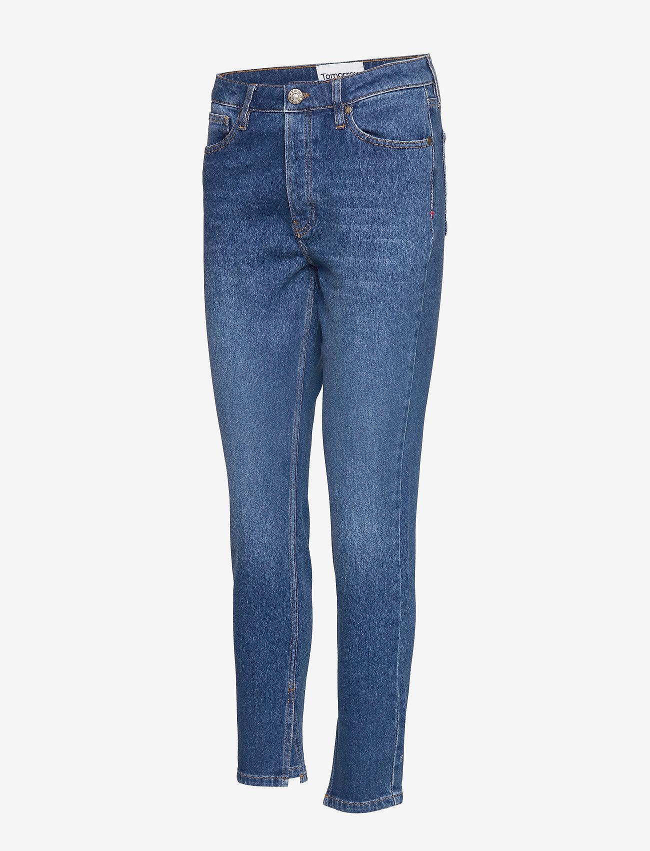 Tomorrow Hepburn Hw Mom Wash Bilbao - Jeans Denim Blue
