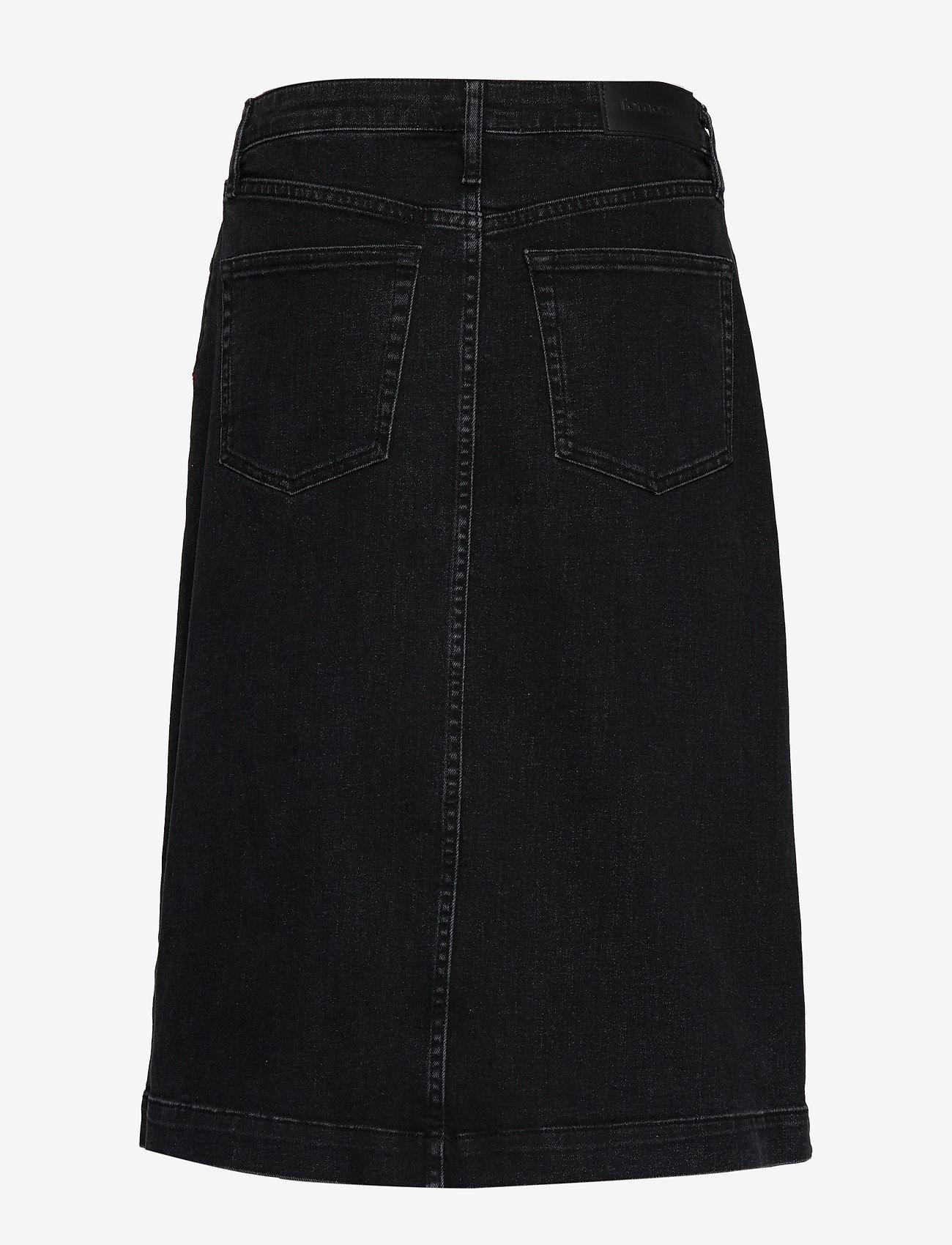Tomorrow - Hepburn denim skirt original black - jeansröcke - black - 1
