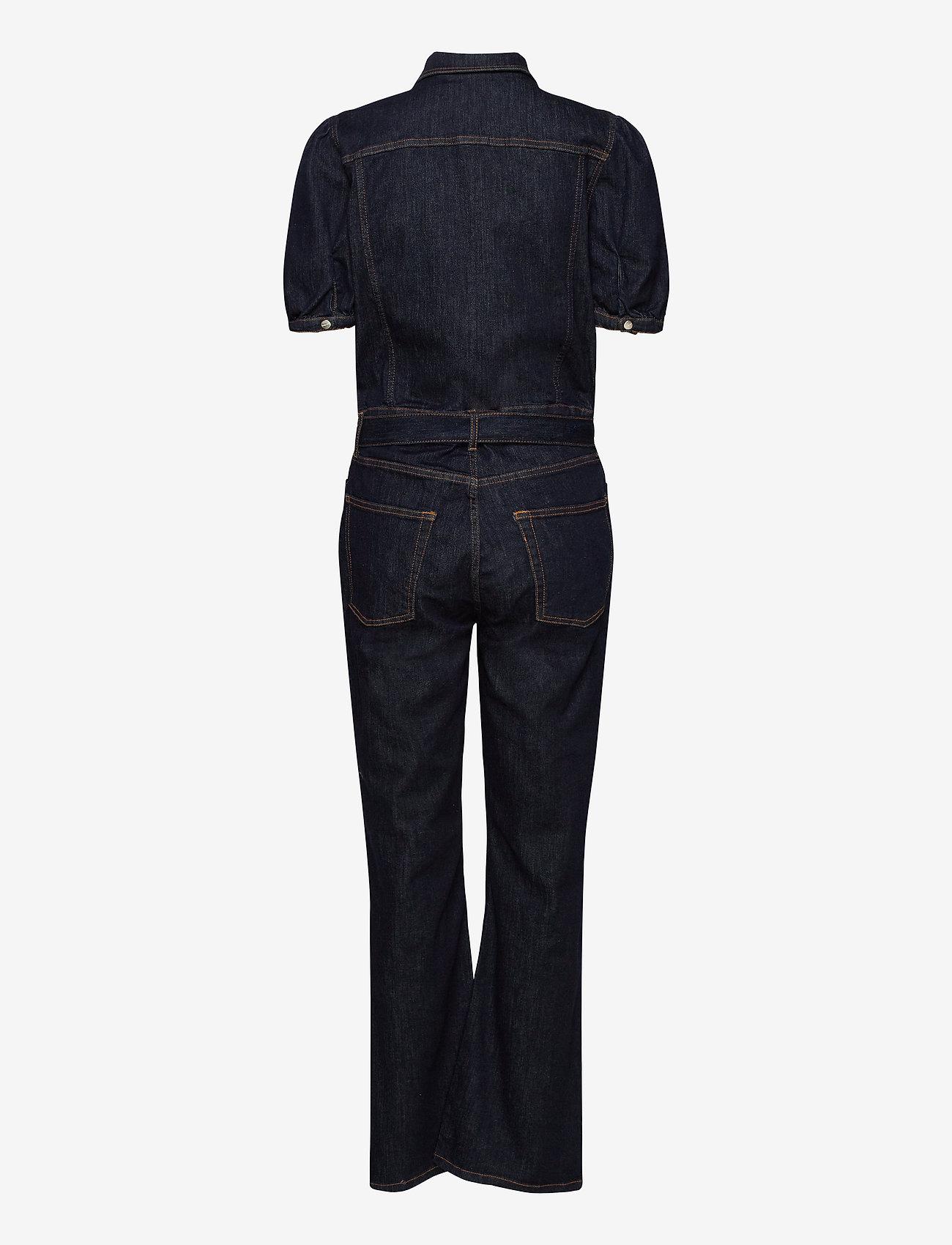 Tomorrow - Marston Tracksuit Wash Raw Indigo - kleding - denim blue - 1