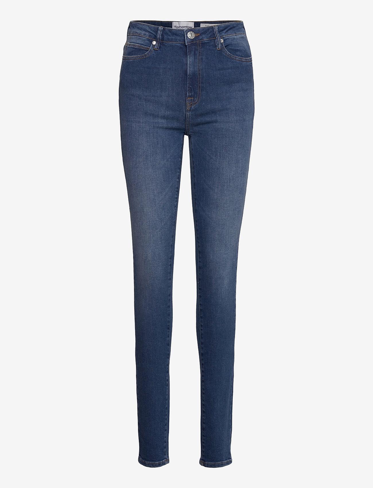 Tomorrow - Bowie HW skinny wash Waterloo - skinny jeans - denim blue - 0