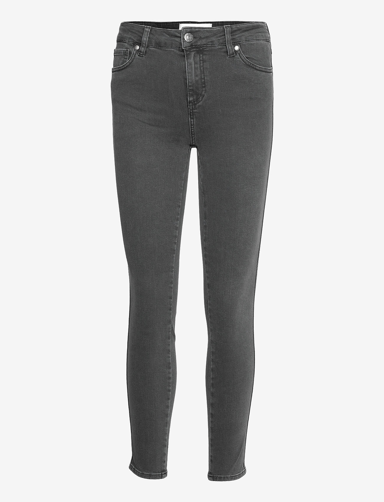 Tomorrow - Dylan MW cropped charcoal grey - skinny jeans - grey - 0