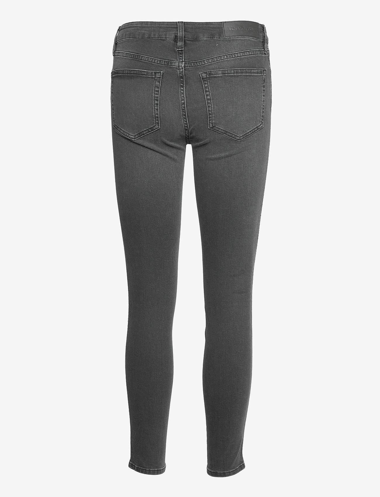 Tomorrow - Dylan MW cropped charcoal grey - skinny jeans - grey - 1