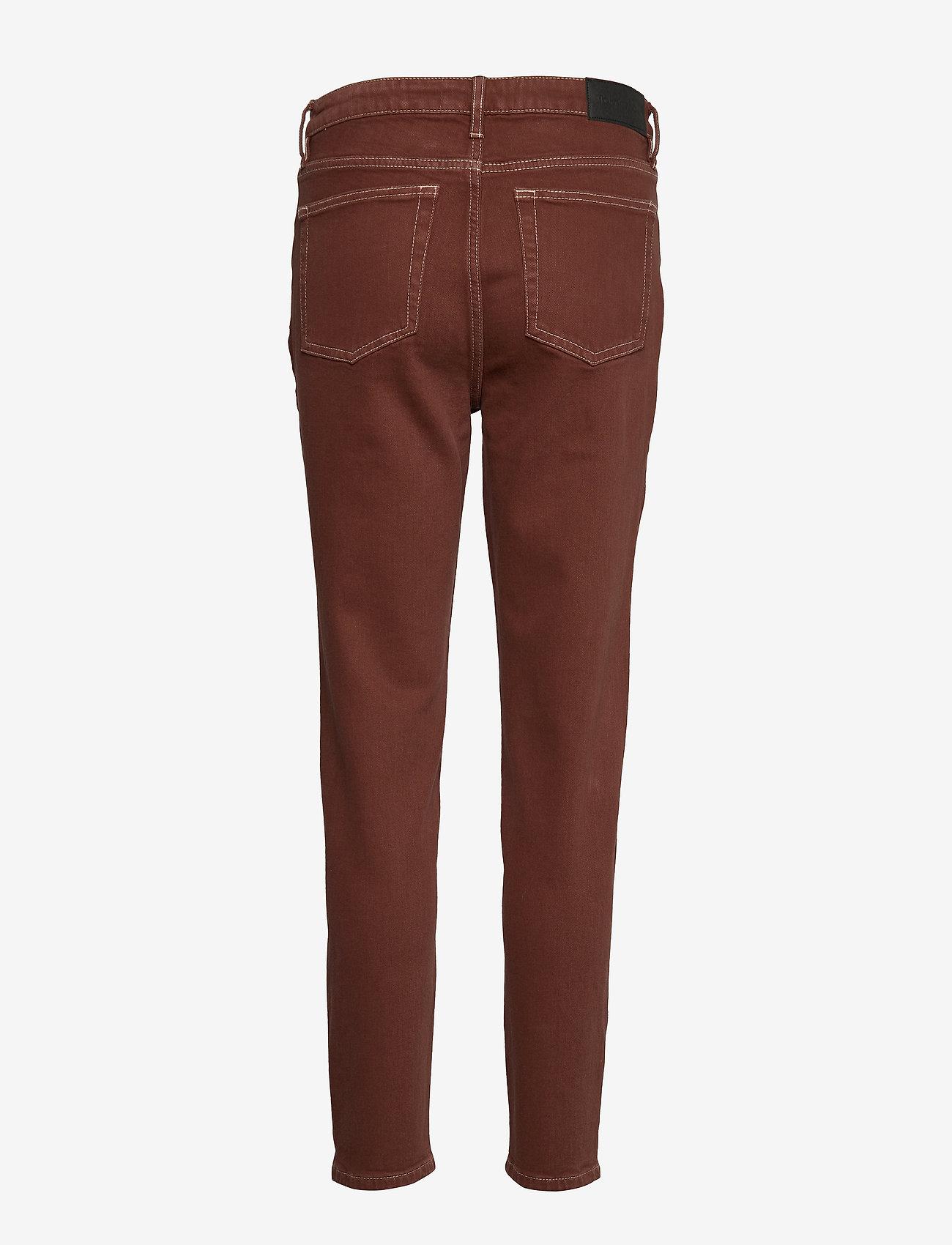 Tomorrow - Hepburn HW mom coffee brown - mom-jeans - coffee brown - 1