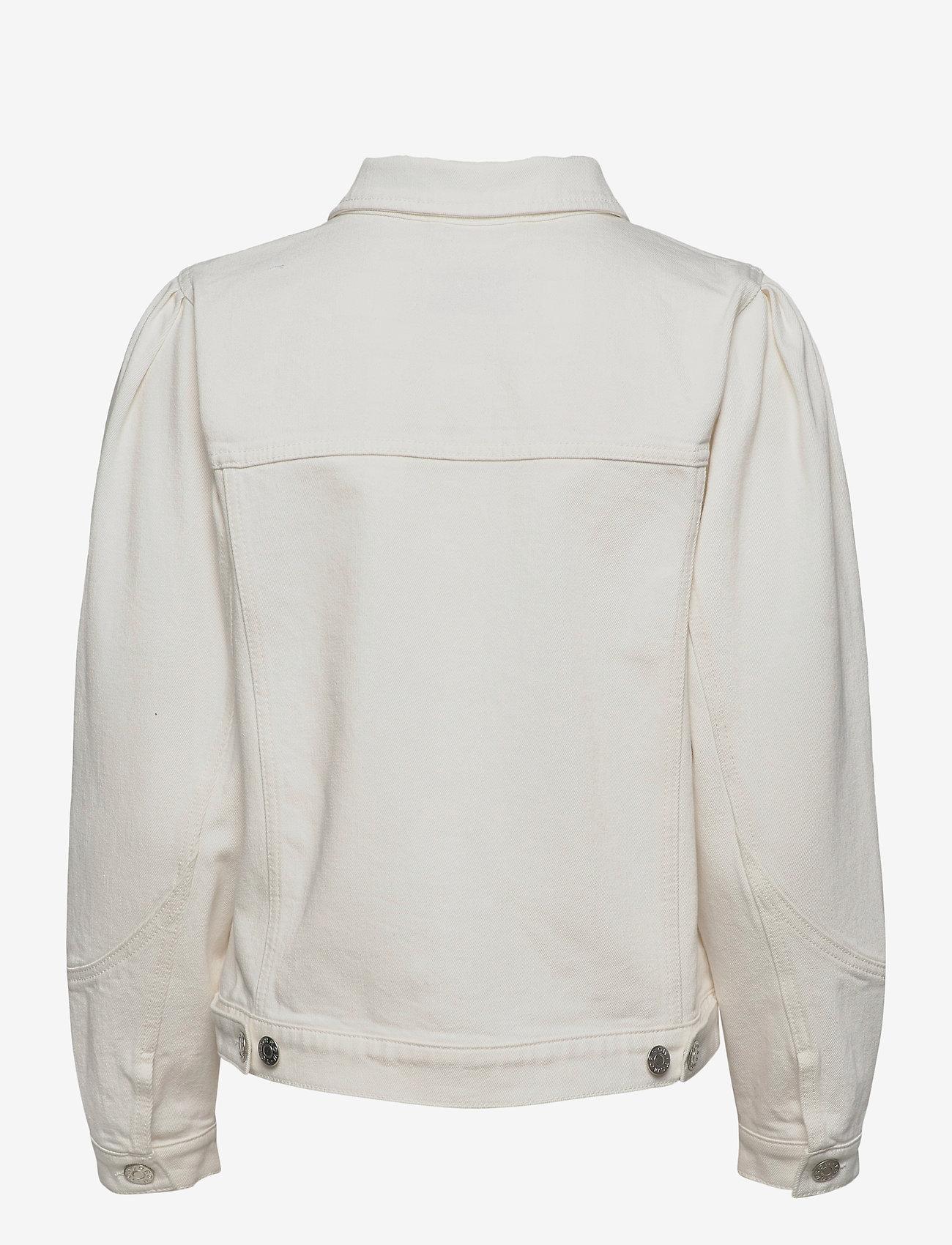 Tomorrow - Kersee puff jacket ecru - jeansjacken - ecru - 1