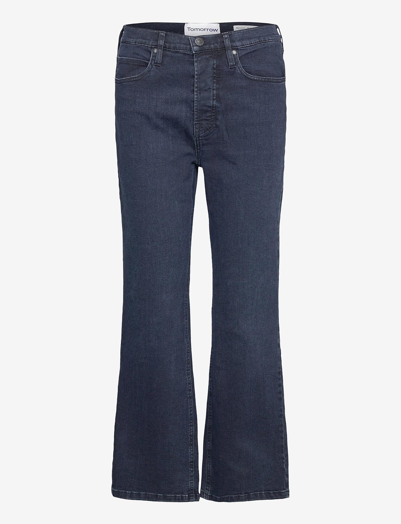 Tomorrow - Marston jeans wash Austin - schlaghosen - denim blue - 0