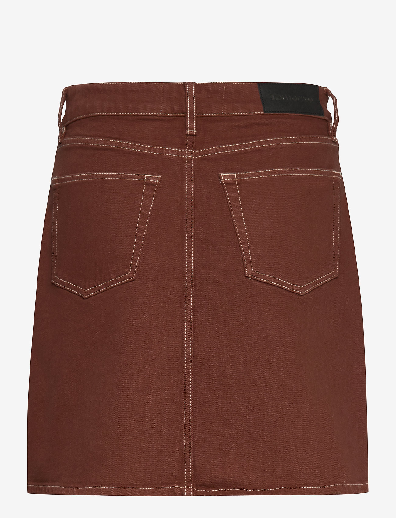Tomorrow - Mandela denim skirt color - kurze röcke - coffee brown - 1