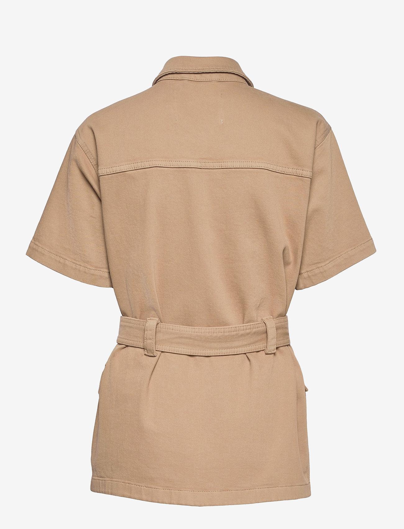 Tomorrow - Mandela SS pocket jacket Khaki - utility-jakker - khaki - 1