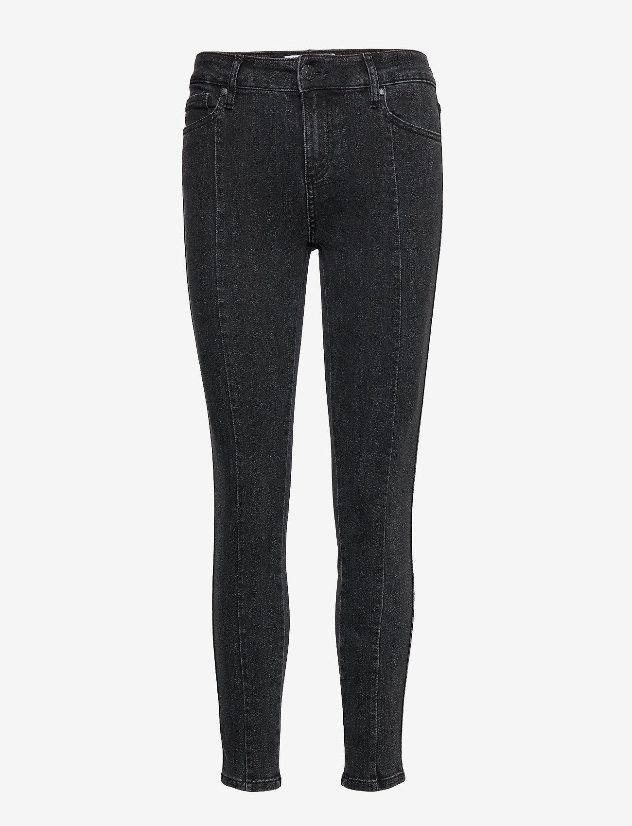 Tomorrow - Dylan MW cropped original black - skinny jeans - black - 0