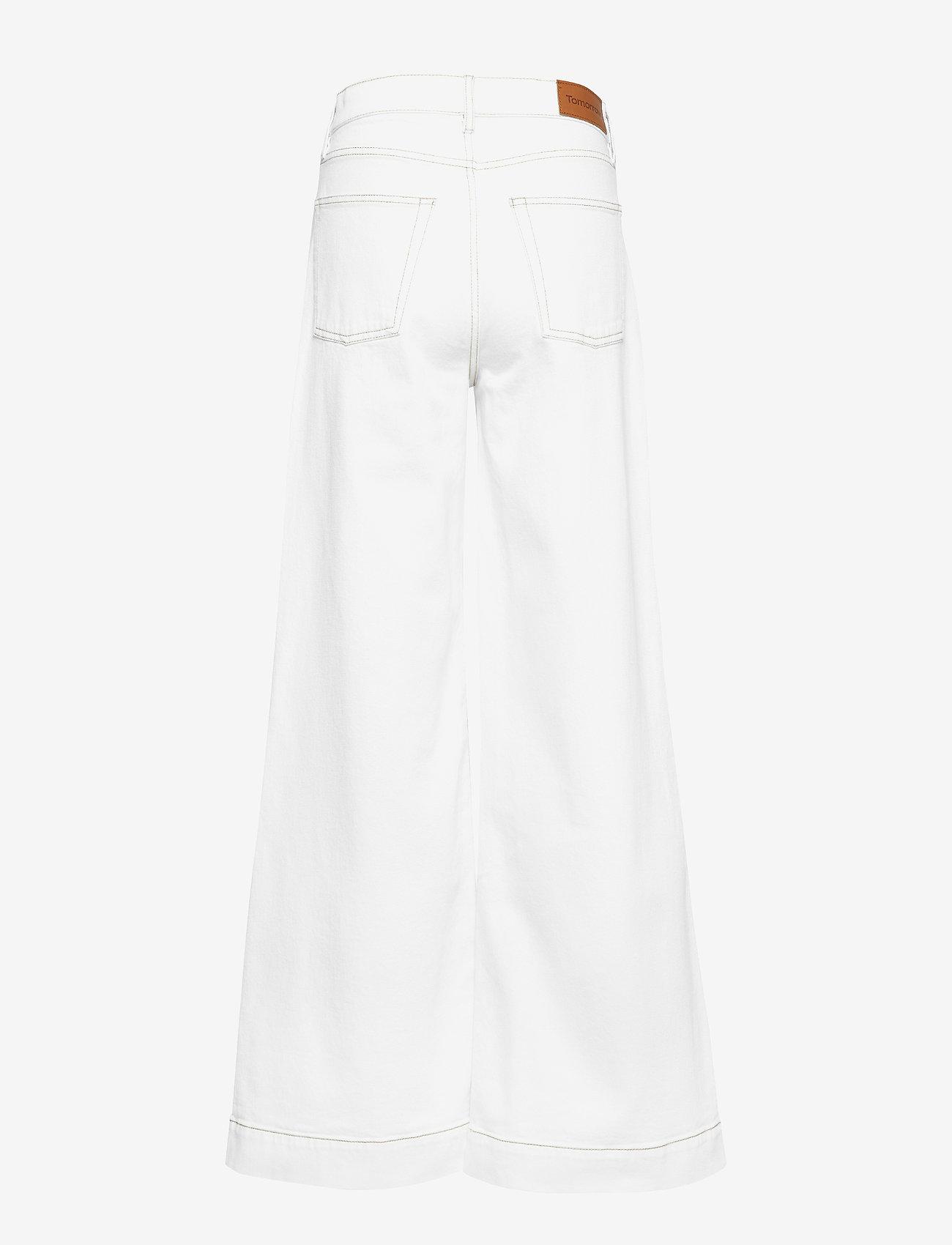 Tomorrow - Kersee HW flare jeans Ecru - schlaghosen - ecru - 1