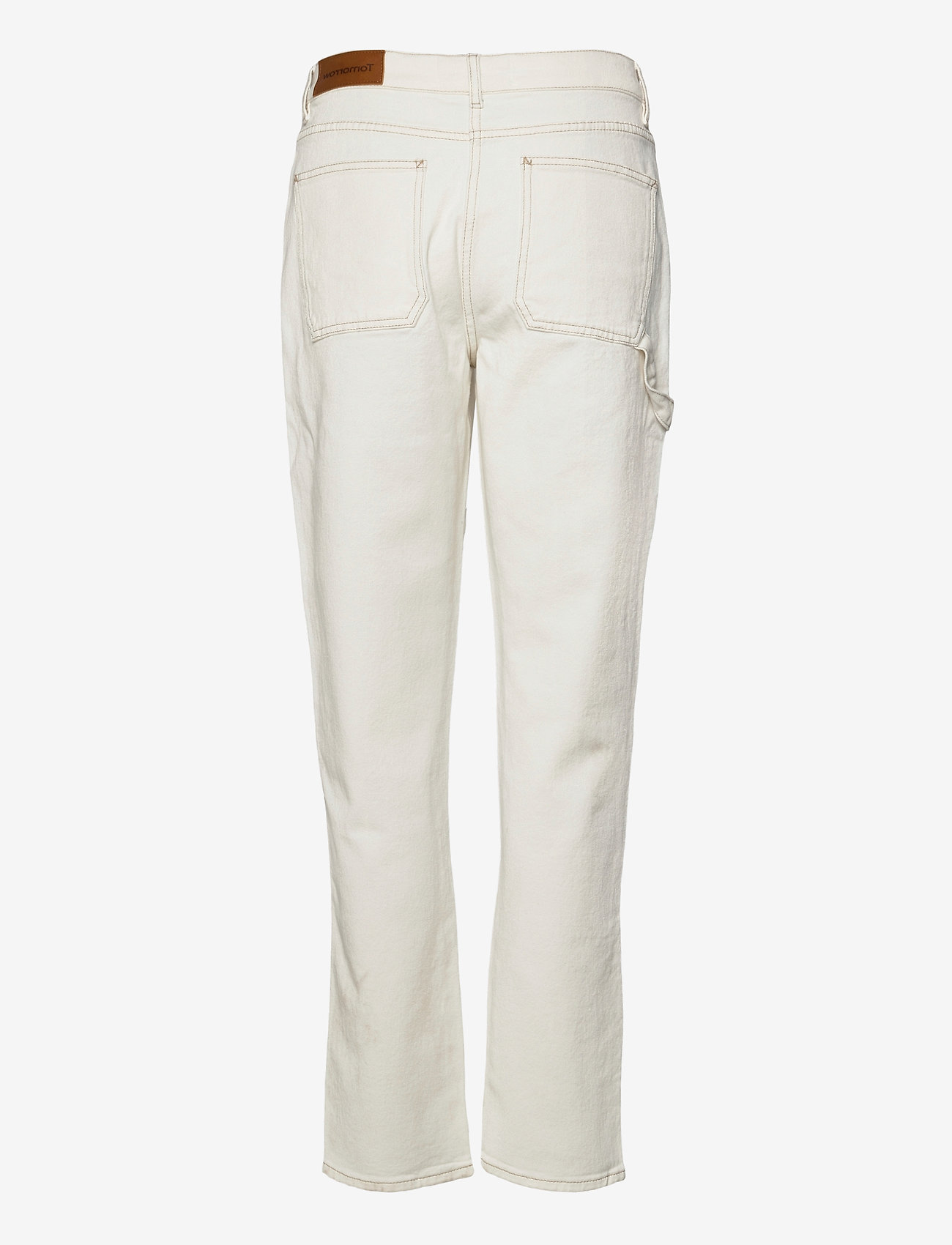 Tomorrow - Lincoln worker pant Ecru - straight jeans - 03 ecru - 1
