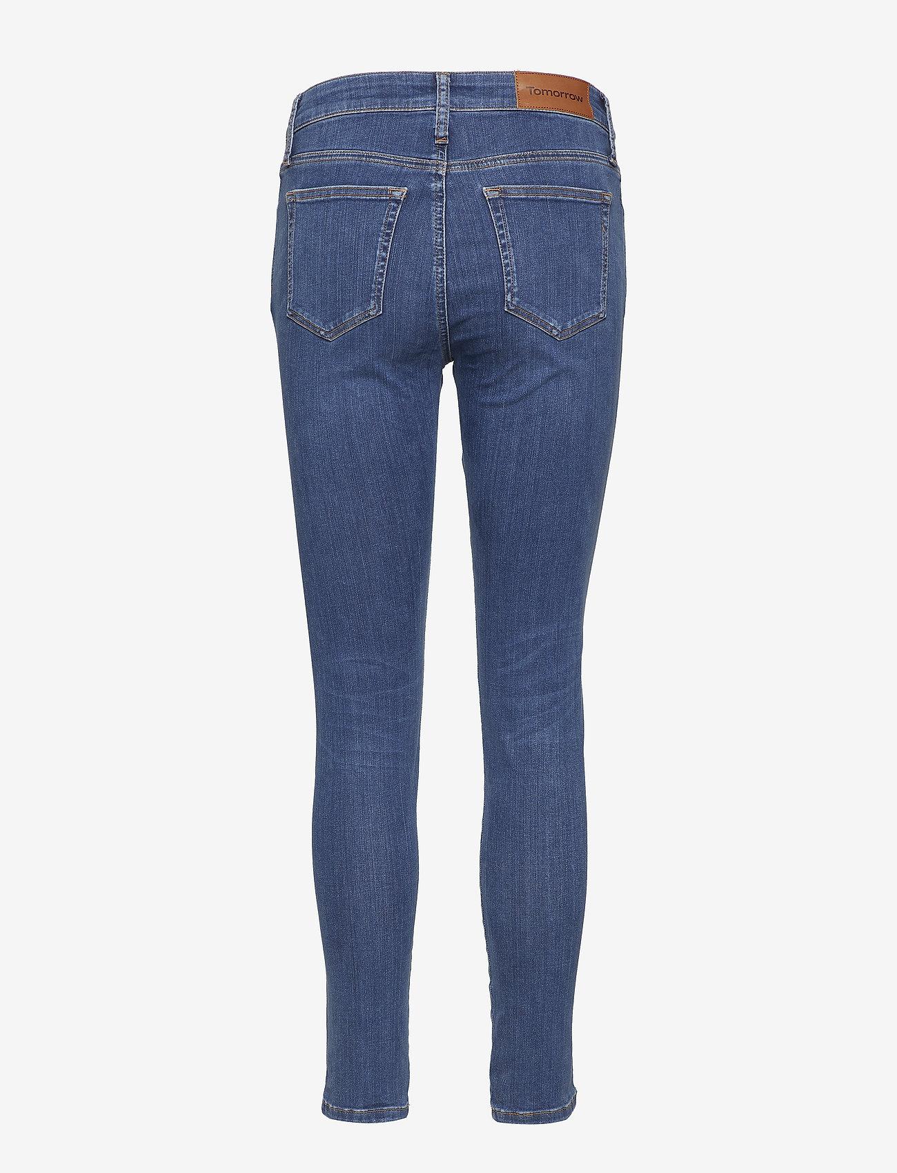 Tomorrow - Dylan MW cropped wash Texas - skinny jeans - 51 denim blue - 1