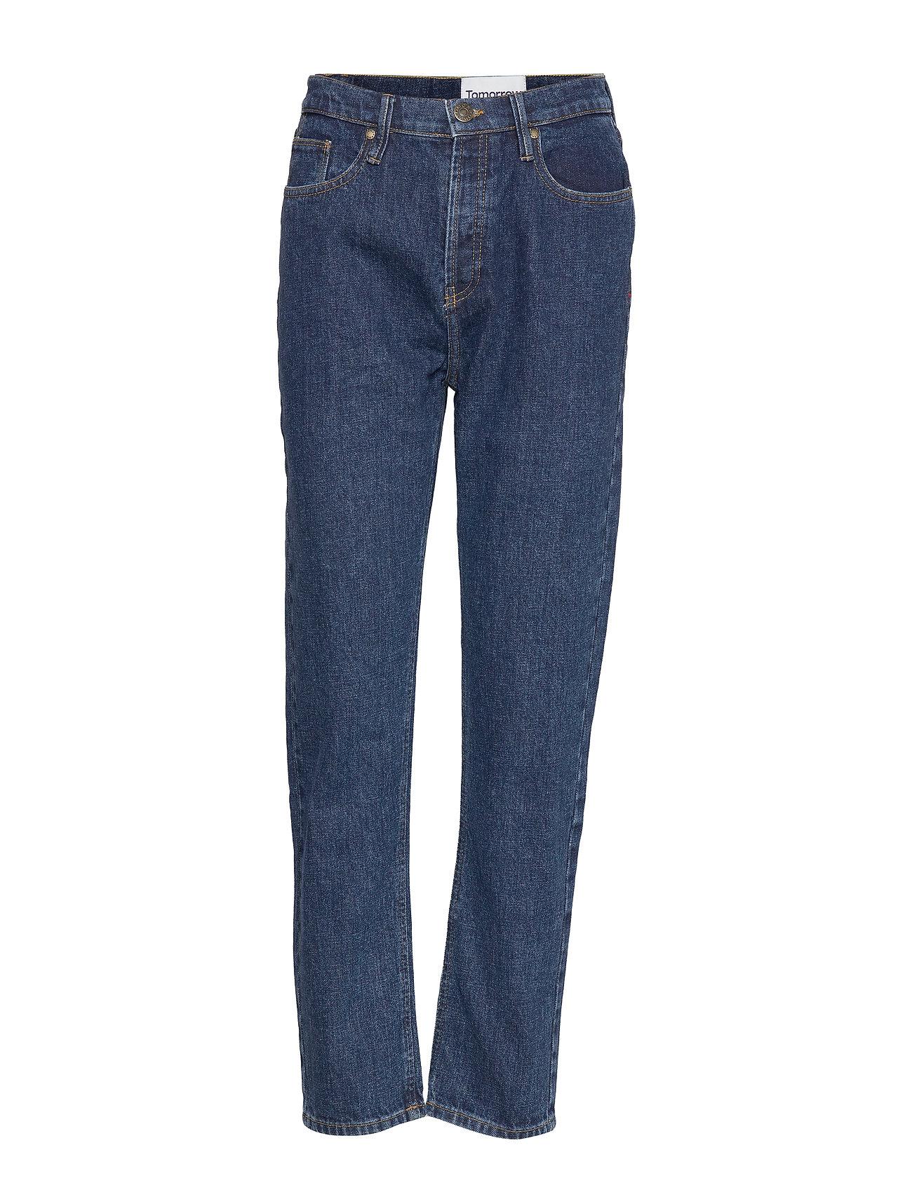 Tomorrow Teresa regular jeans wash dark Orla - DENIM BLUE