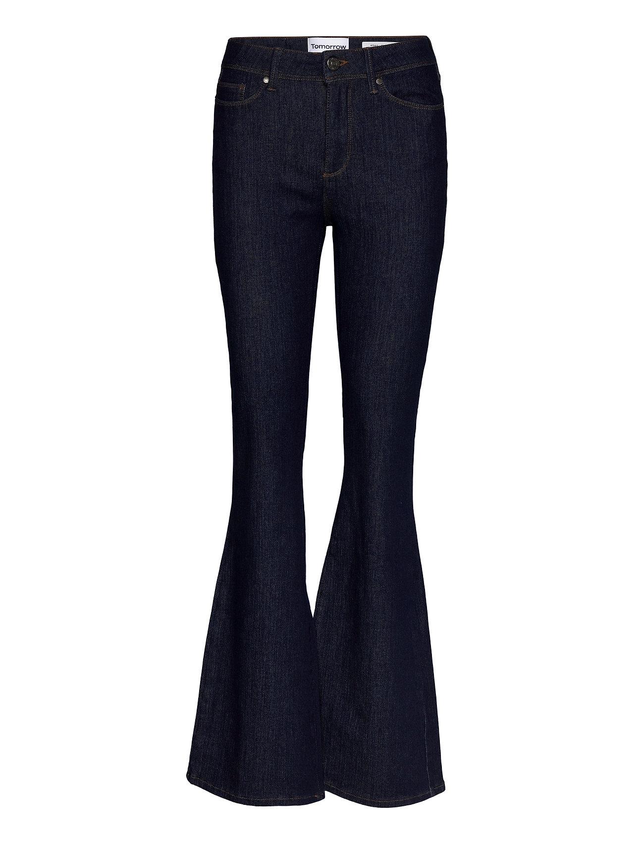 Tomorrow - Albert flare jeans Rinse - schlaghosen - denim blue - 0